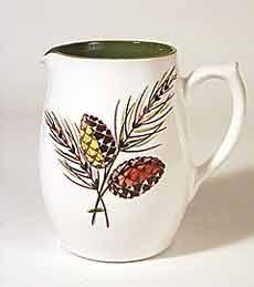 Langley leaf design jug