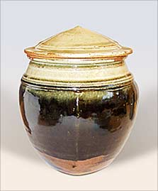 Batterham lidded jar