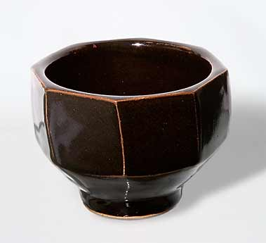 Jeremy Leach faceted bowl