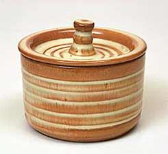 Prinknash lidded pot