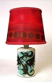 Celtic table lamp
