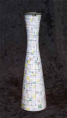 Rye Pottery mosaic vase