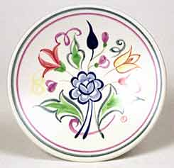 Floral Poole dish