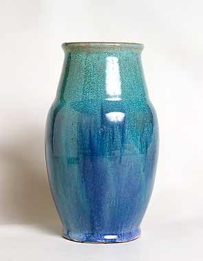 Blue Isle of Wight vase