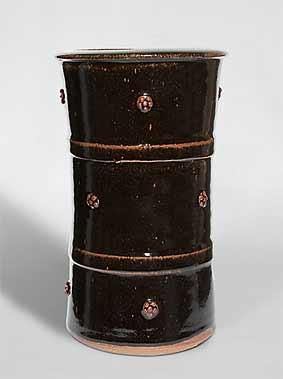 Phil Rogers sprigged vase