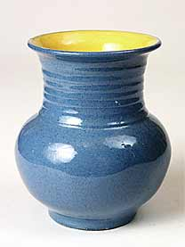 Blue Braunton vase