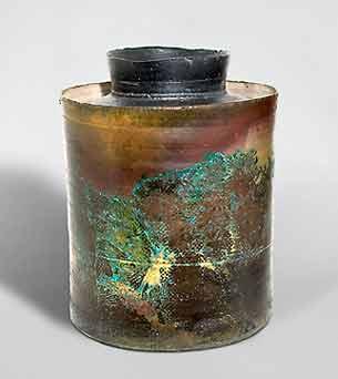 John Bedding lidded jar