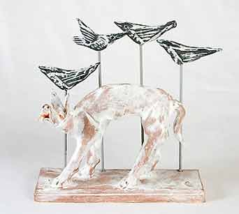 Ian Gregory dog and birds