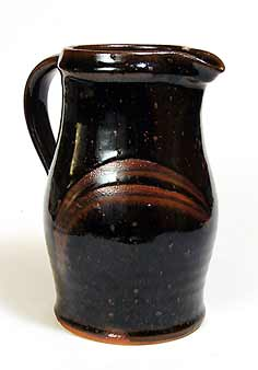 Decorated Scott Marshall jug