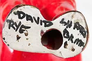 David Sharp horse (mark)