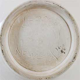 Slip decorated  Leaper bowl (marK)