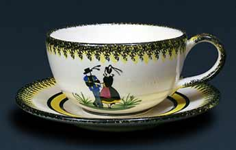 Henriot cup and saucer