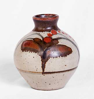 Small Lowerdown stoneware bottle