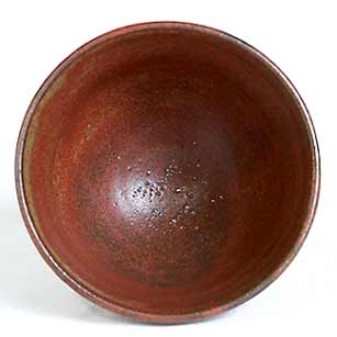 Staite Murray tea bowl (inside)