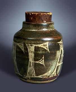 Pearson tea jar