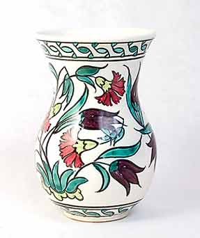 Floral Mills vase