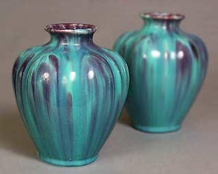 Two Devonmoor vases