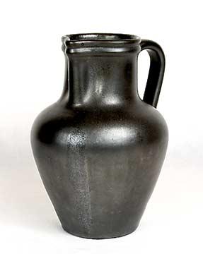 Large black Dicker jug