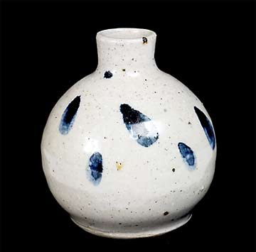 Bill Marshall porcelain bottle