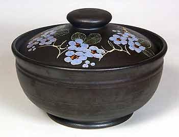 Lidded Marazion bowl