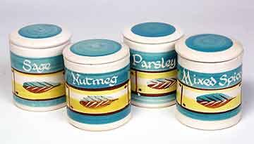 Rainham spice jars