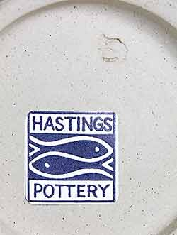 Large Hastings bowl (mark)