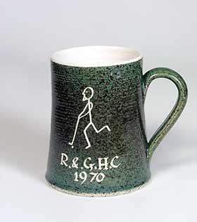 Rainham hockey mug