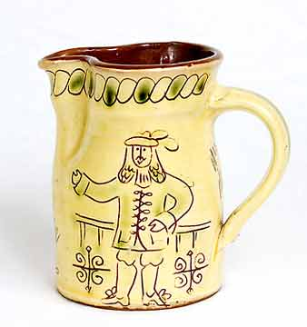 Wondrausch Guildford jug (back)