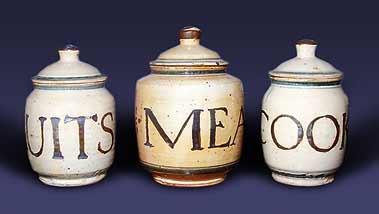 Seth Cardew lidded pots