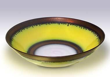 Yellow Peter Wills bowl