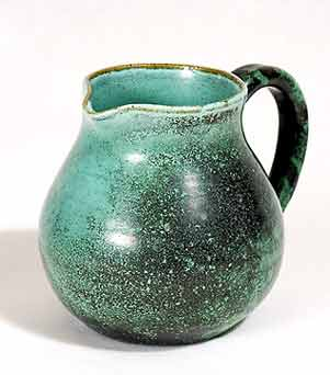 Green Rye jug