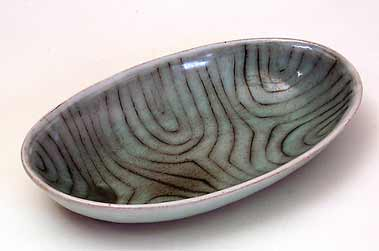 Oval Vellow bowl