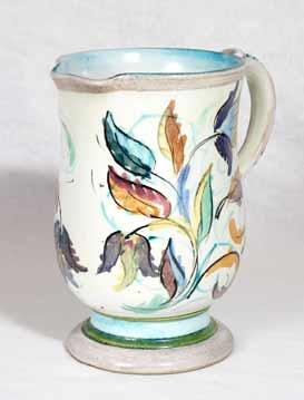 Glyn Colledge floral jug