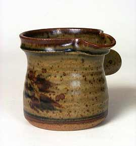 Side-handled Vellow jug