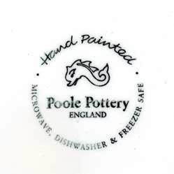 Large Poole 'Vincent' jug (mark)