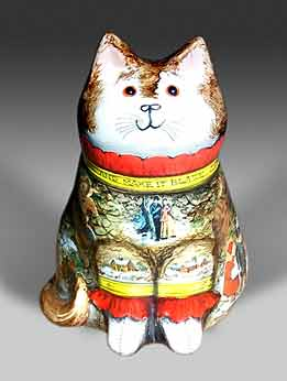 De Bethel pottery cat