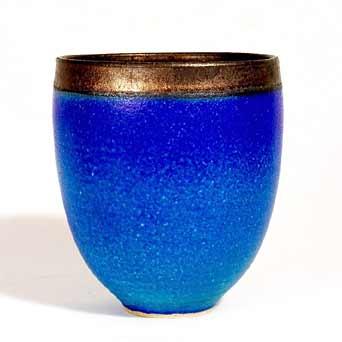 Simon Rich azurite pot