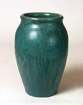 Blue/green Upchurch vase