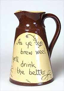 Cumnock ale jug