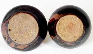 Abuja screw-top salt and pepper (bases)