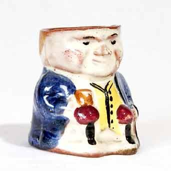 Small Torquay Toby pot
