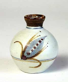 David Leach porcelain bottle
