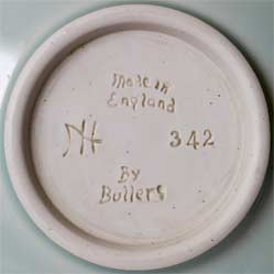Agnete Hoy cup and saucer (mark)