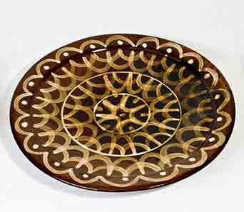 Wally Cole platter