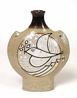 Dove of peace flask