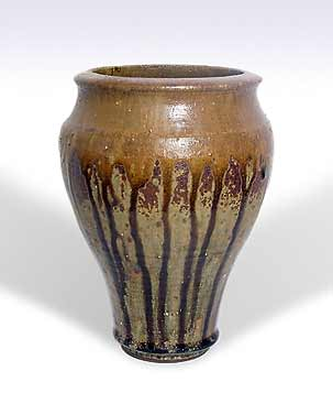 John Vasey drippy vase