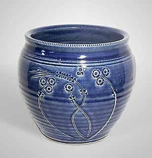 St Agnes plant pot