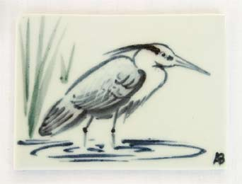 Amanda Brier bird tile