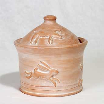 Philip Wood lidded pot