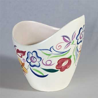Poole traditional freeform vase